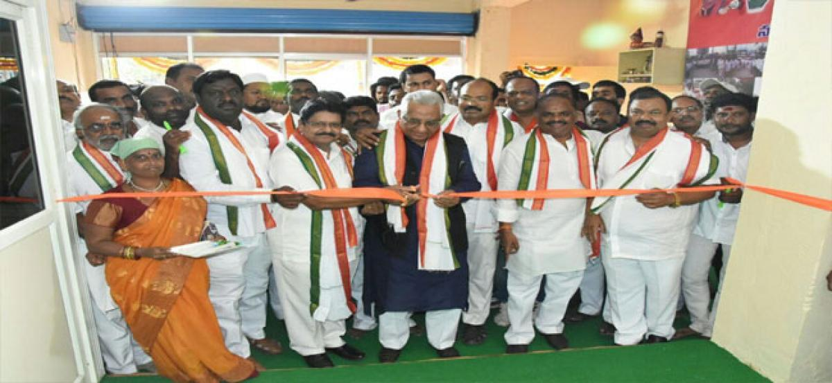 Congress party office opened