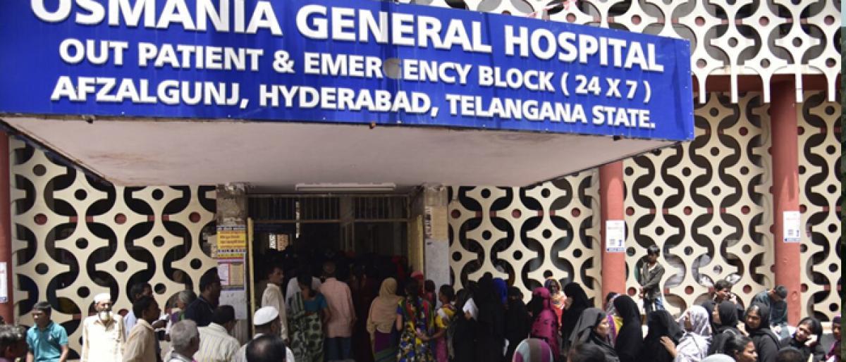 Osmania, Gandhi see surge in patients