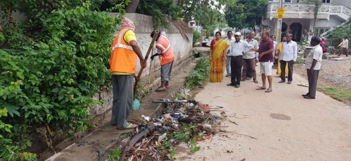 Open drains a major concern in B N Reddy Nagar
