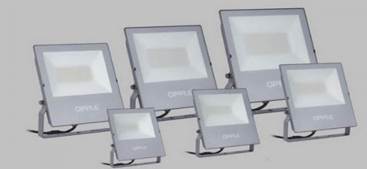 OPPLE Lighting unveils durable LED floodlight EQ Series to illuminate the exteriors