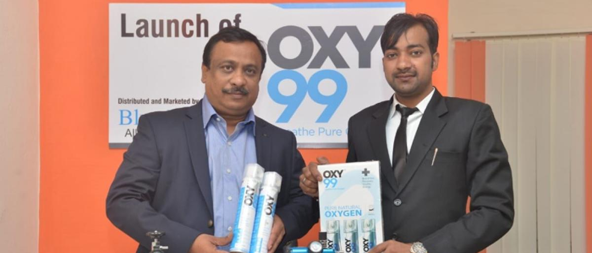 Now, portable oxygen can in Telangana market