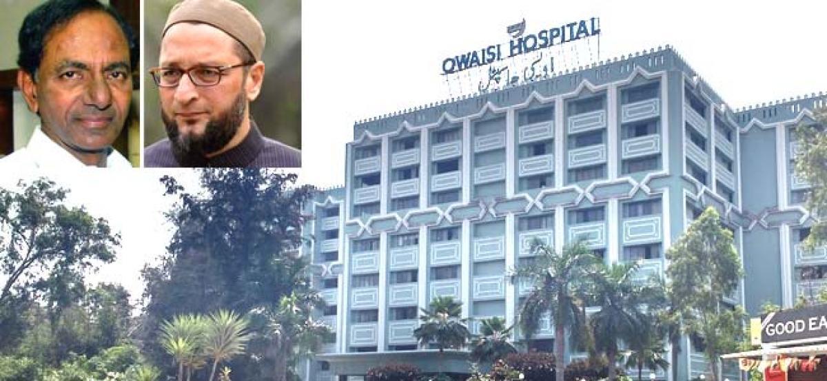 Hyderabad: Telangana govt. allocates Rs 40 cr land to Owaisi Hospital