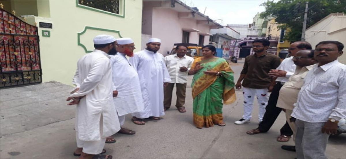 Padmavathi greets Muslims on Eid