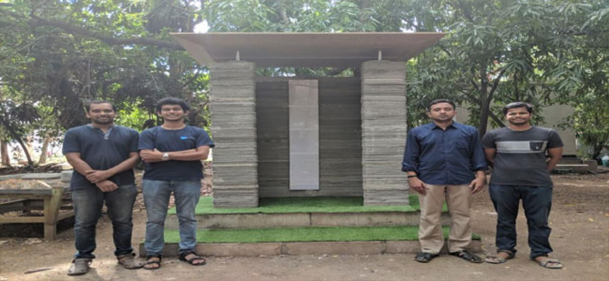 India's first 3D Printing Construction Technology developed