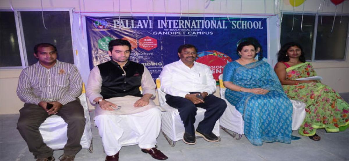 Pallavi International School launched  at Himayatnagar