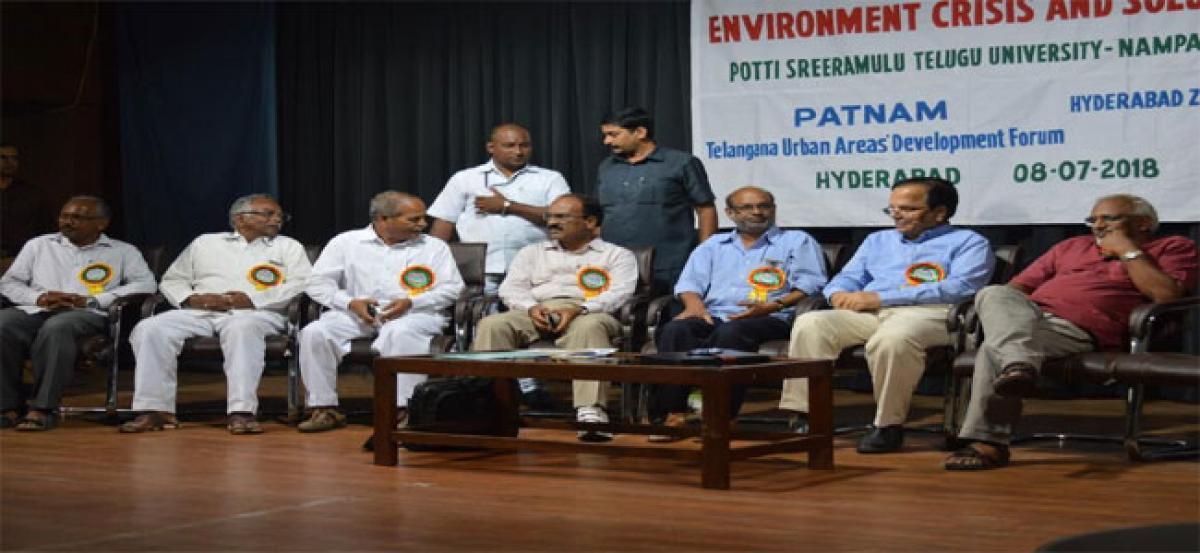 Seminar on failure of environmental movements held