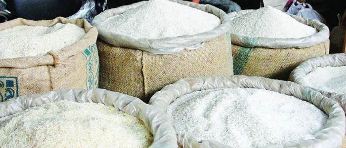 Black marketers caught selling PDS rice to govt