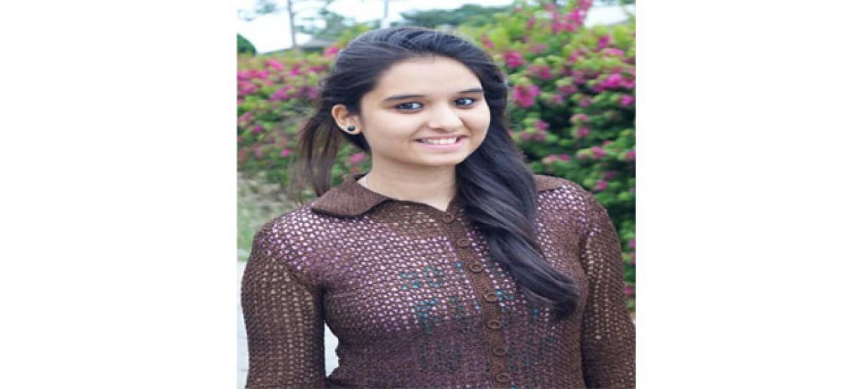 Love for subject leads to success: Swathi Bhavani Potla
