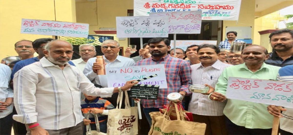 Youngster's crusade against plastic use
