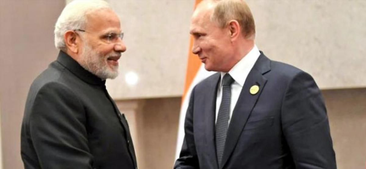 India-Russia ties deep rooted, says PM Modi on meeting with Putin