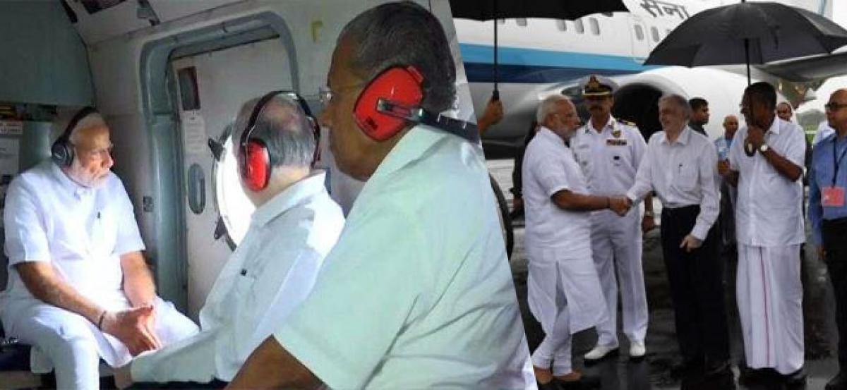 Kerala Floods: PM Modi announces 500 Crore for immediate relief