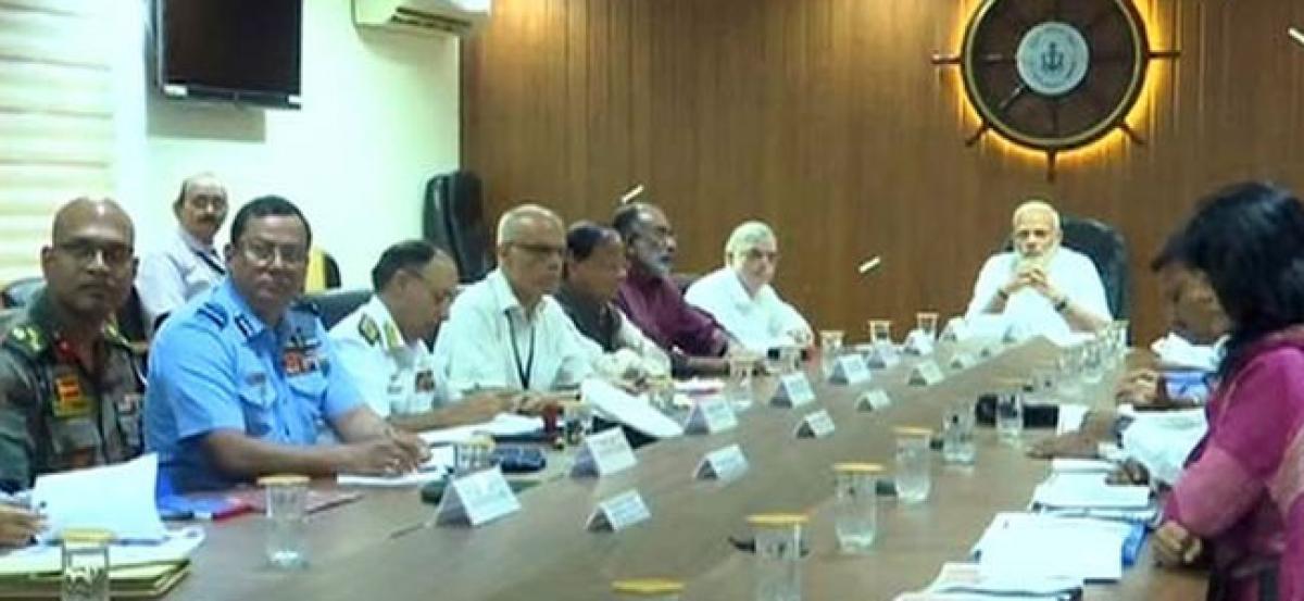 Kerala Floods: PM Modi conducts aerial survey, announces financial aid