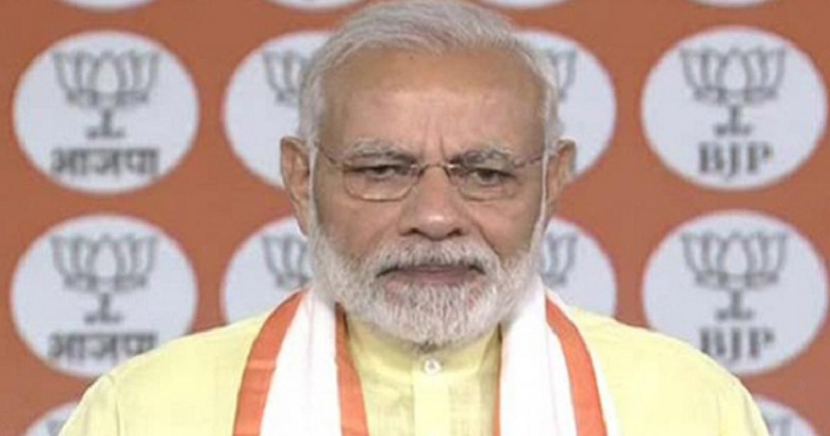 Congress failed to play role of opposition: PM Modi