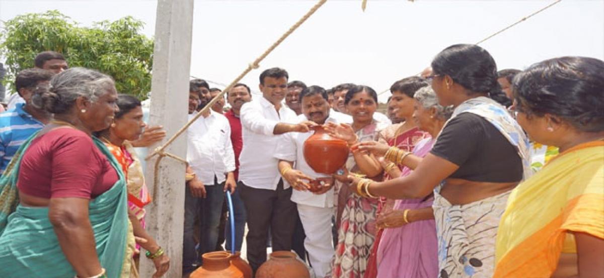 MLA assures safe drinking water