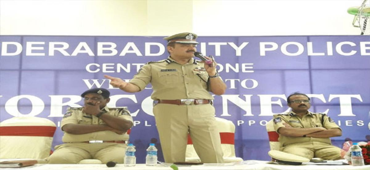 Hyd CP inaugurates Job Connect programme