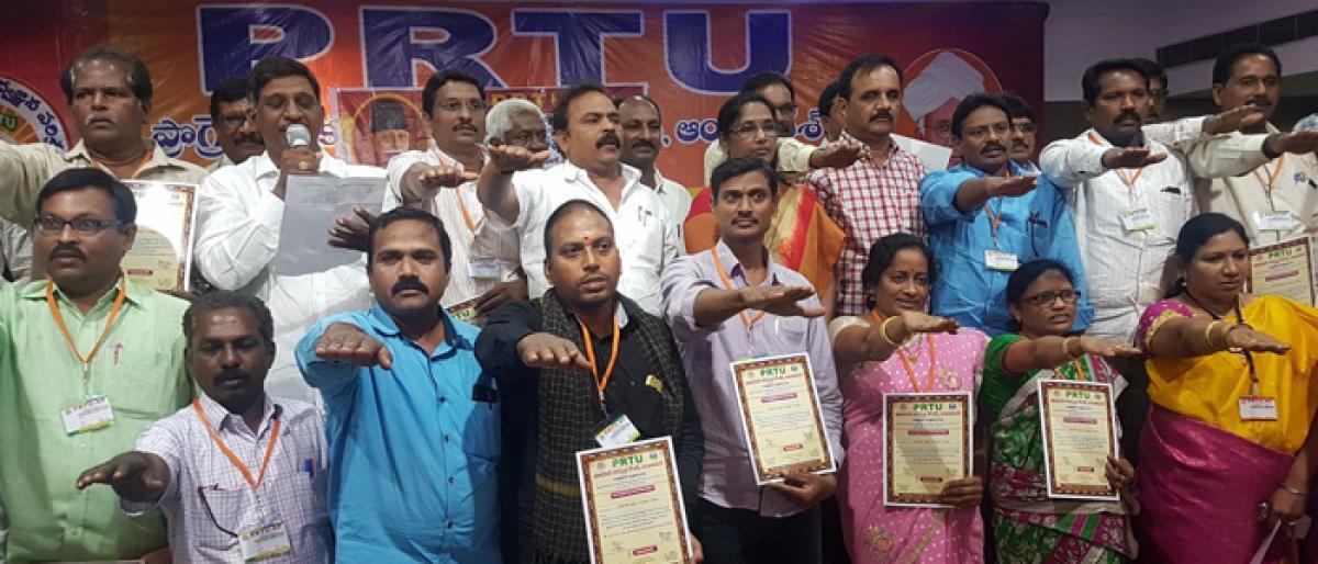 PRTU district executive body elected