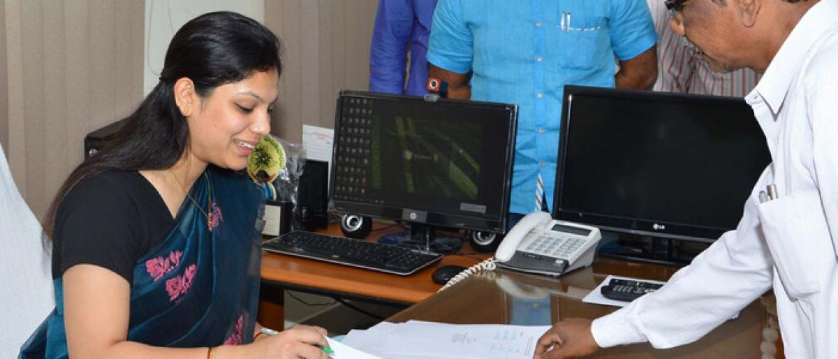 Pamela takes charge as ITDA Additional PO