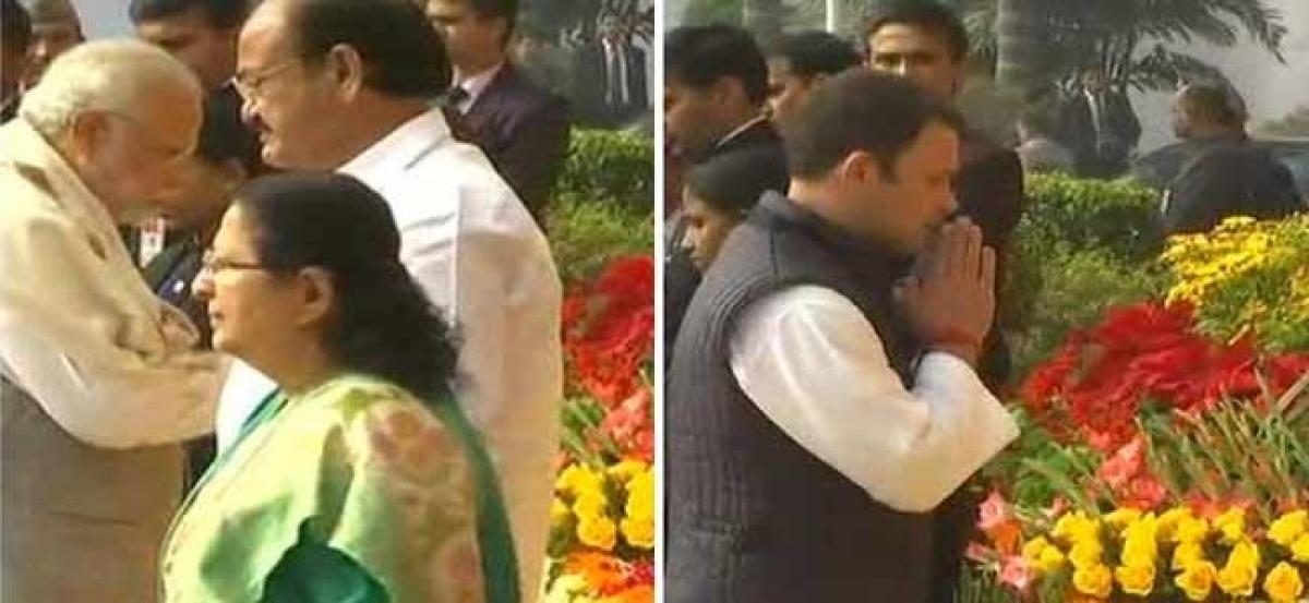 Parliament attack anniversary: PM Modi, Rahul Gandhi pay tribute