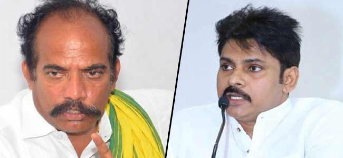 AP Minister KS Jawahar Fumes At Pawan Kalyan