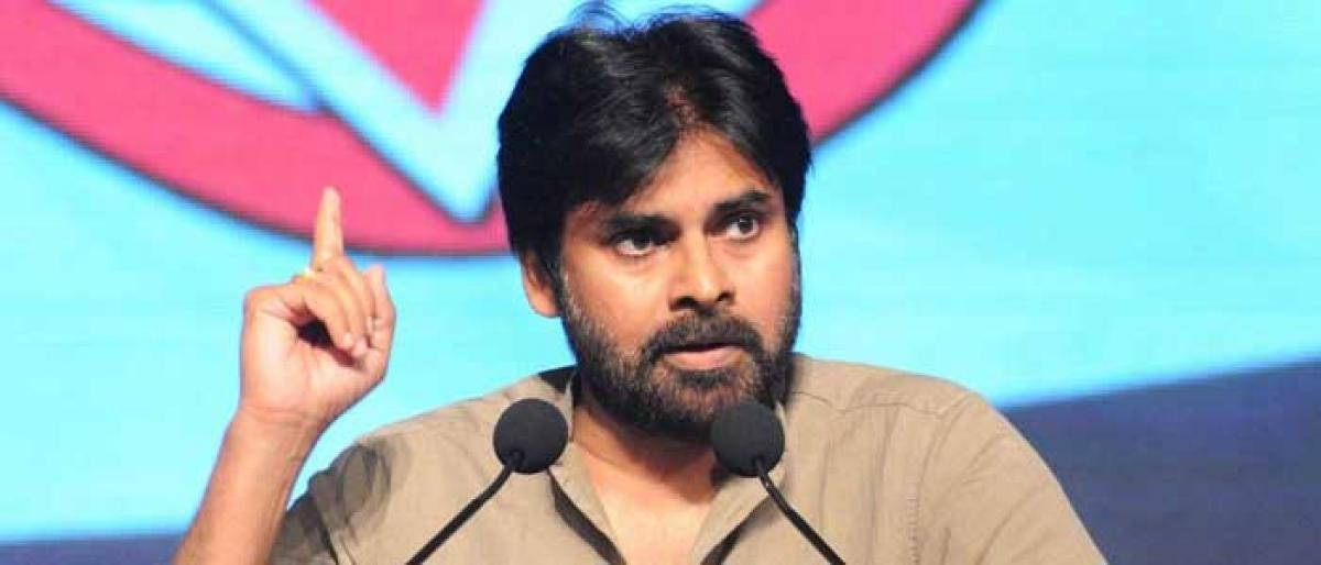 Jana Sena yatra enters Khammam tomorrow