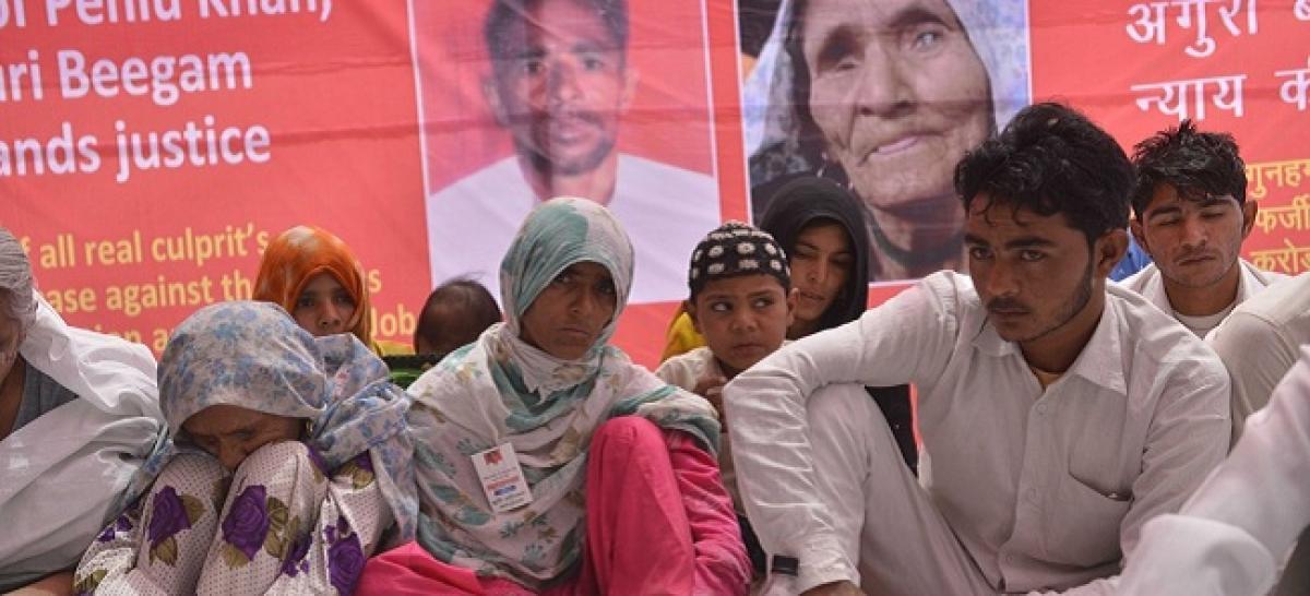 Lynching victim Pehlu Khans son shot at in Rajasthan