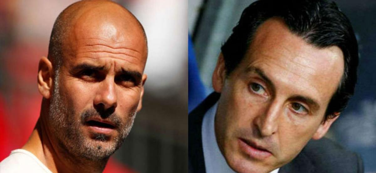 Premier League: Manchester City manager Pep Guardiola hails Arsenal counterpart Unai Emery