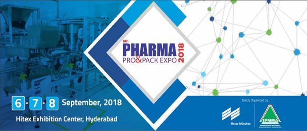 Three pharma fairs in Hyderabad from September 6-8