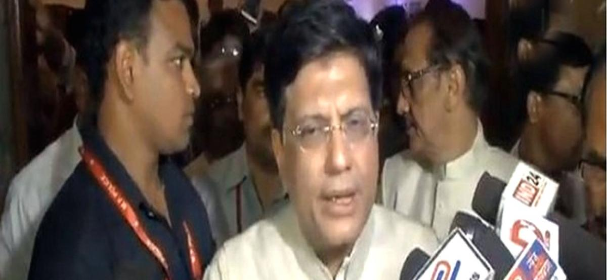 Piyush Goyal lauds GST council for success