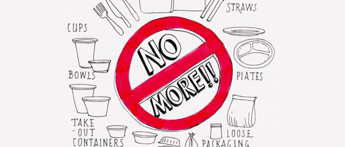 Shops raided, plastic ban violators fined