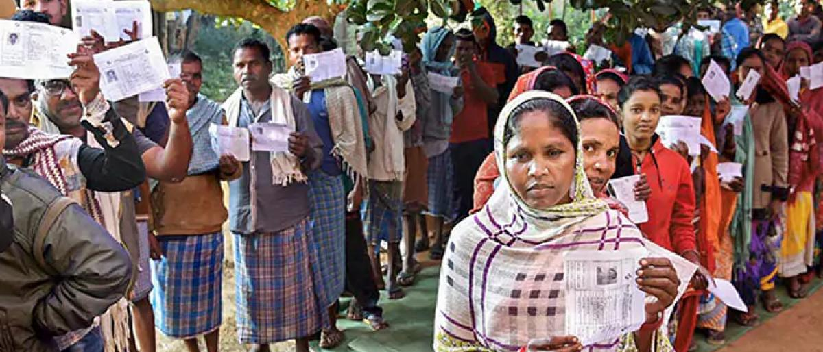 Polling begins for last phase of Chhattisgarh Assembly elections