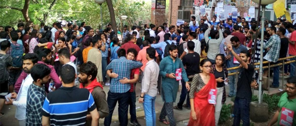 ABVP, Left trade charges
