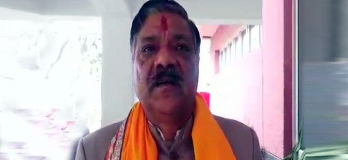 BJP MLA injured after stone pelted at his car in Mathura