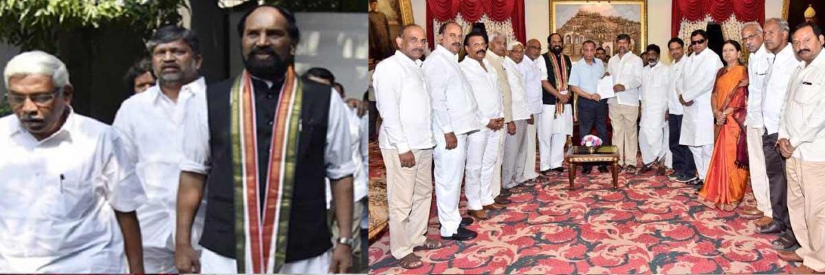 Prajakutami leaders meet governor a day before election result