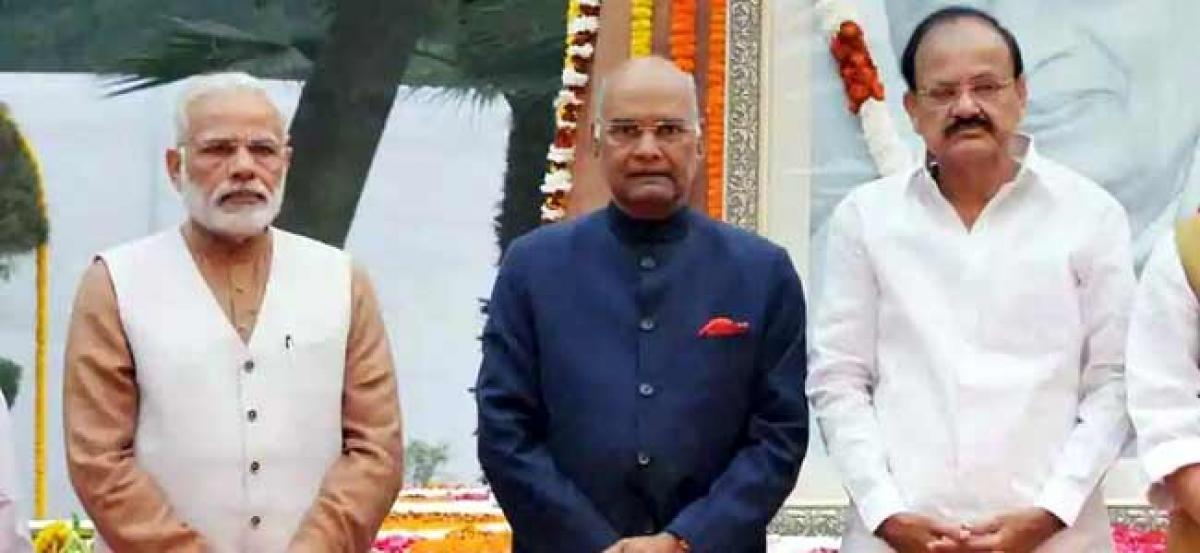 President, Vice President, Prime Minister greets nation on Diwali