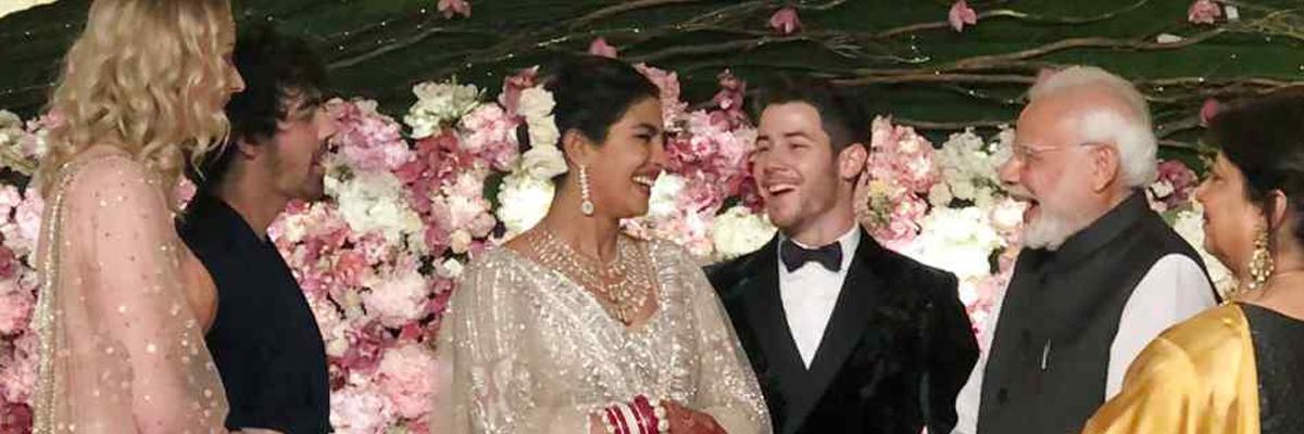Priyanka Chopra, Nick Jonas thank PM Narendra Modi for attending wedding reception