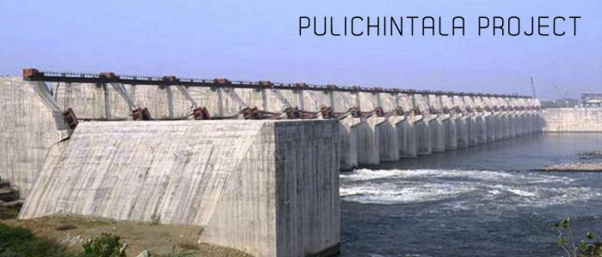 Water from Pulichintala project to be released