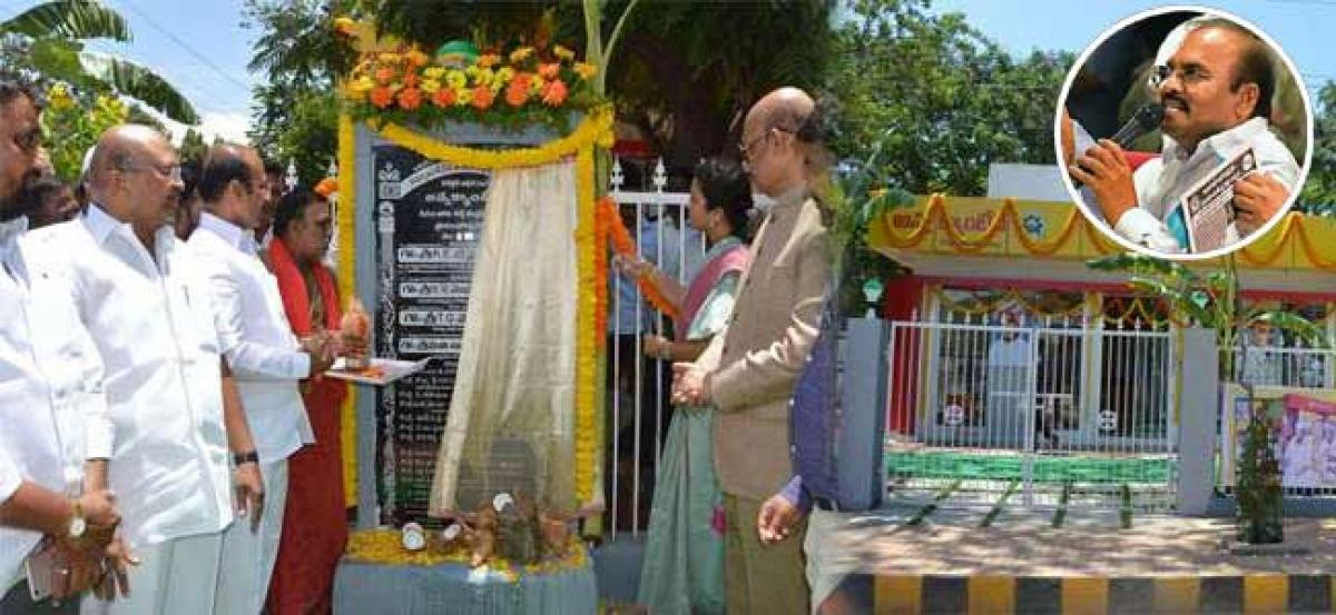 Air Condition Facility In Anna Canteens Soon In AP