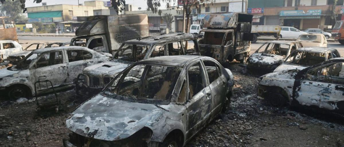 Maha simmers after Pune violence