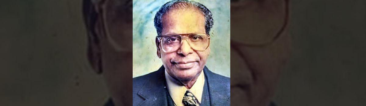 Srikakulam lost an eminent person