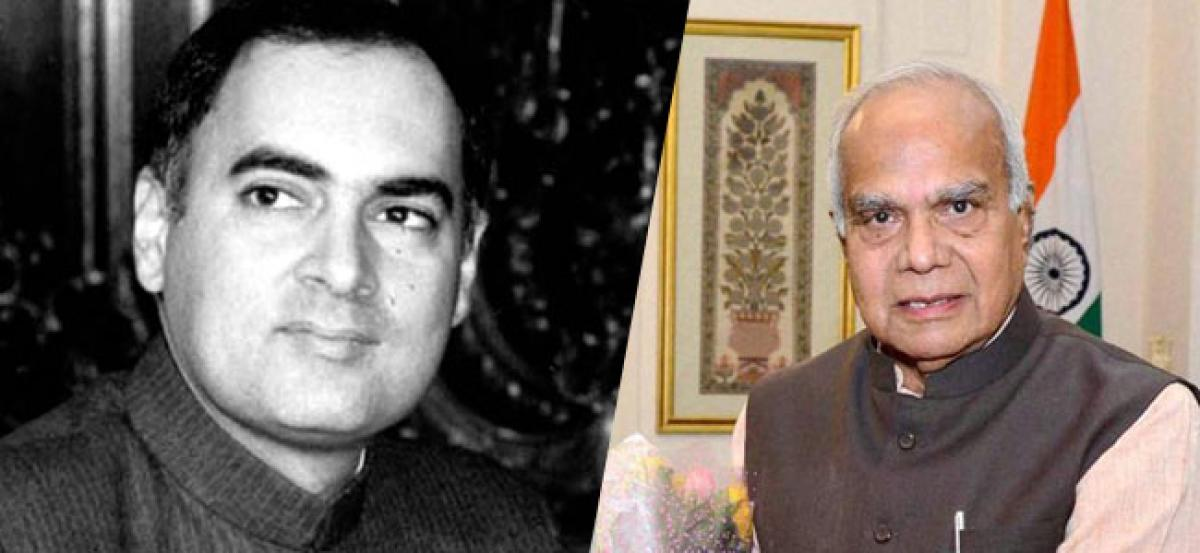 Files of the Rajiv Gandhi assassination convicts handed over to the governor