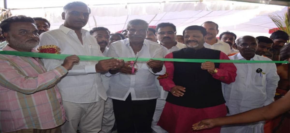 TRS pro-farmer government: Minister Harish