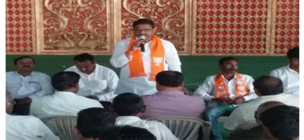 BJP will win Kukatpally seat: M Kantha Rao