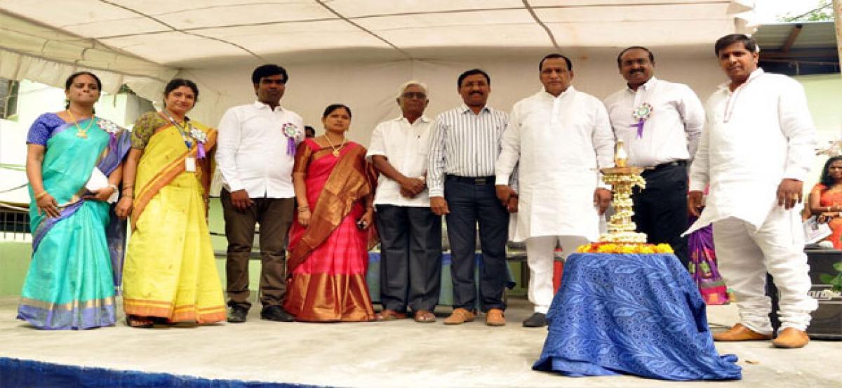 Rockspire Public School inaugurated