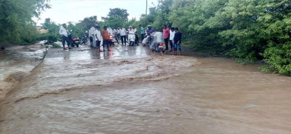 Heavy rain lashes Vikarabad dist