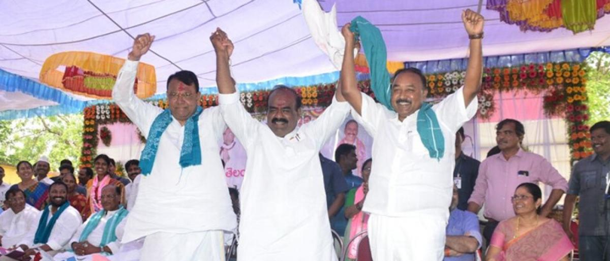 India can beat China, If TRS schemes implemented across nation, says Dy CM Ali