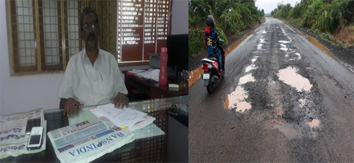 People fume at contractor for shoddy work on double road project