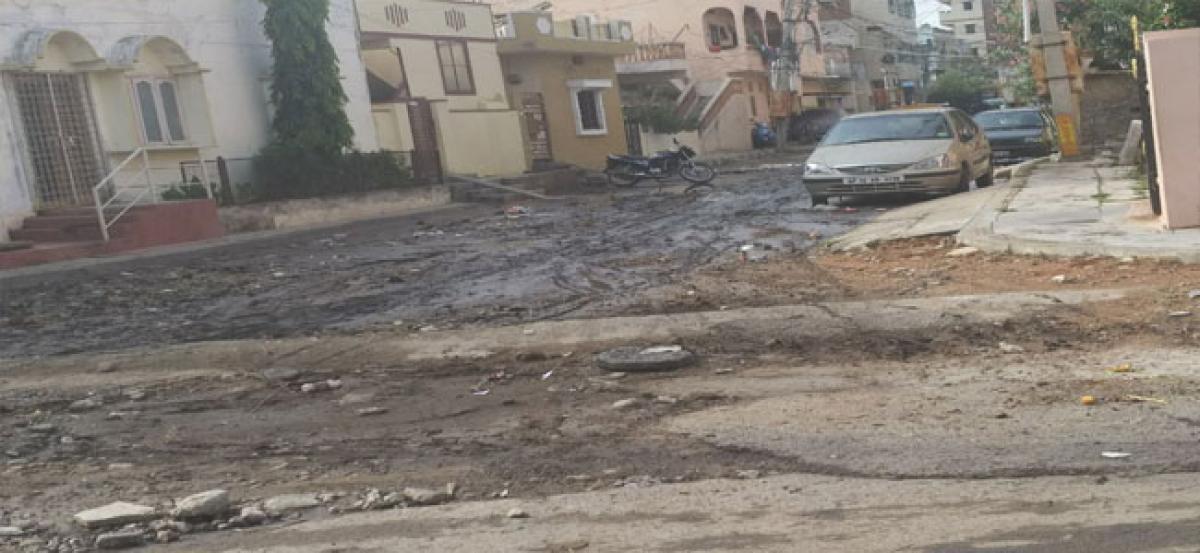 Rain havoc: Roads become inaccessible