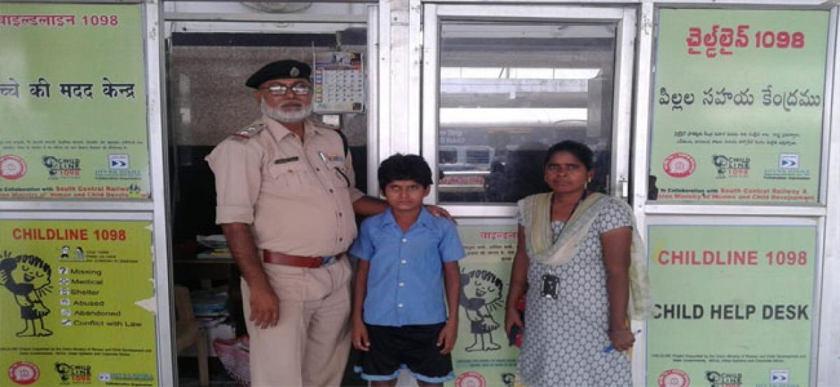 83 children run away rescued at Secunderabad Railway Station in July