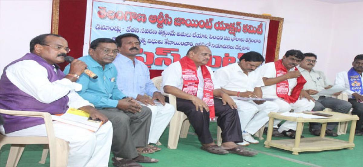 RTC JAC demands invitation to Cabinet Sub-Committee meet