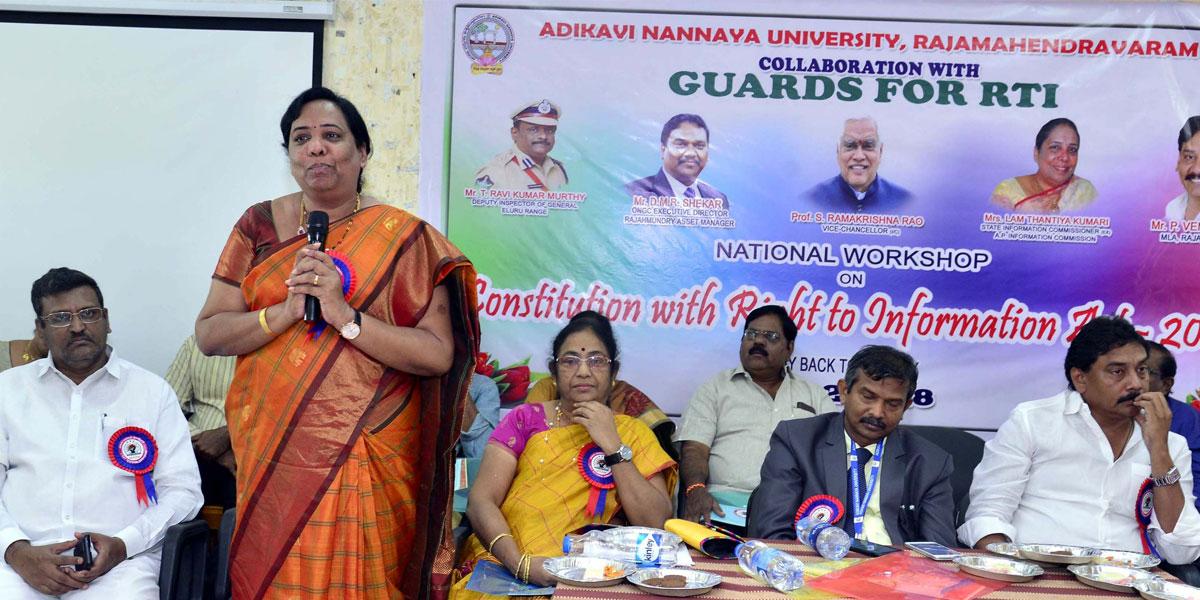 RTI essential for women